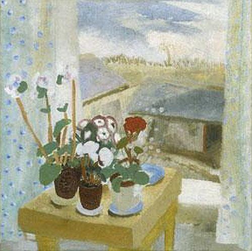 Winifred Nicholson, Flower Piece, 1927