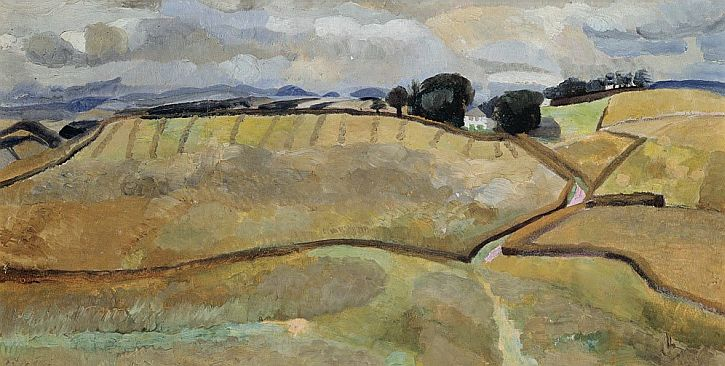 Winifred Nicholson, Northrigg Hill, 1926
