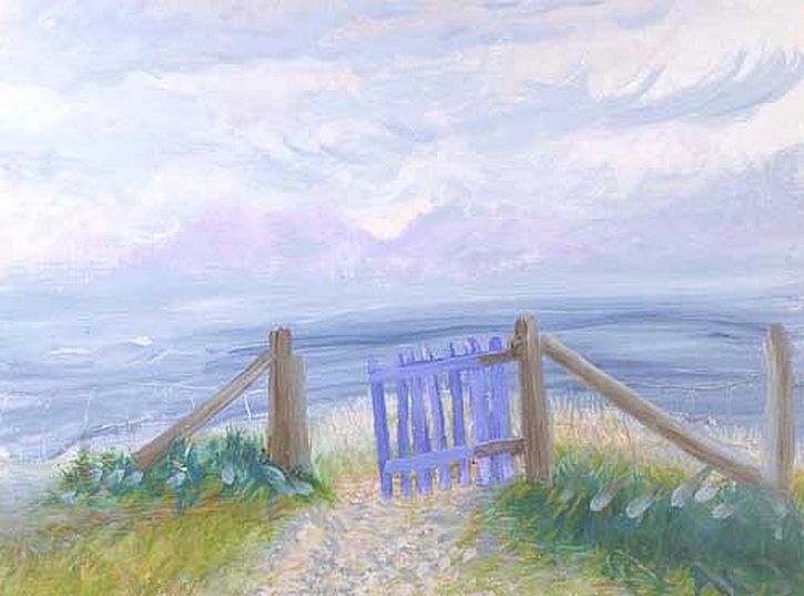 Winifred Nicholson, The Gate to the Isles, 1980