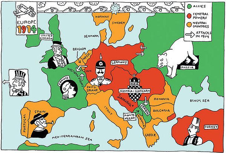 Europe sleepwalks to war That 39 s How The Light Gets In