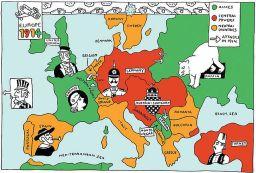 Europe sleepwalks to war