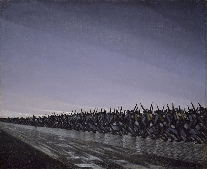 C. R. W. Nevinson, Column on the March, 1915