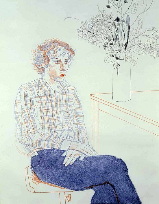 David Hockney, Gregory, 1974