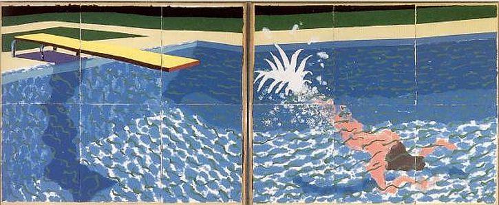 Le Plongeur (Paper Pool 18), 1978