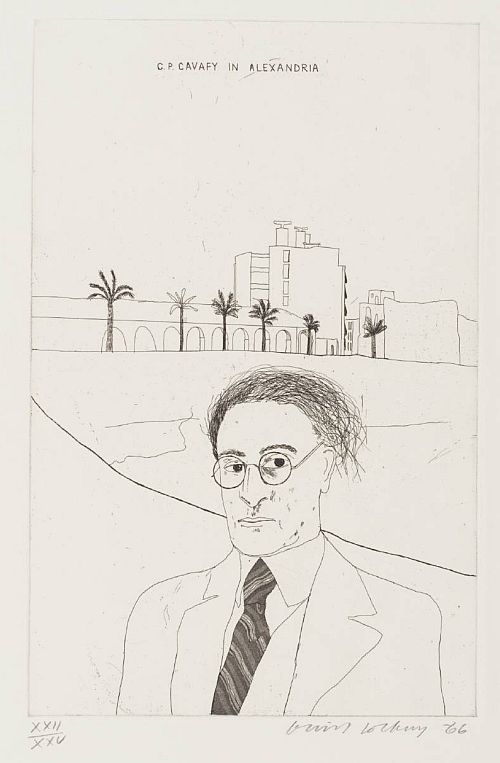 Portrait of Cavafy in Alexandria 1966