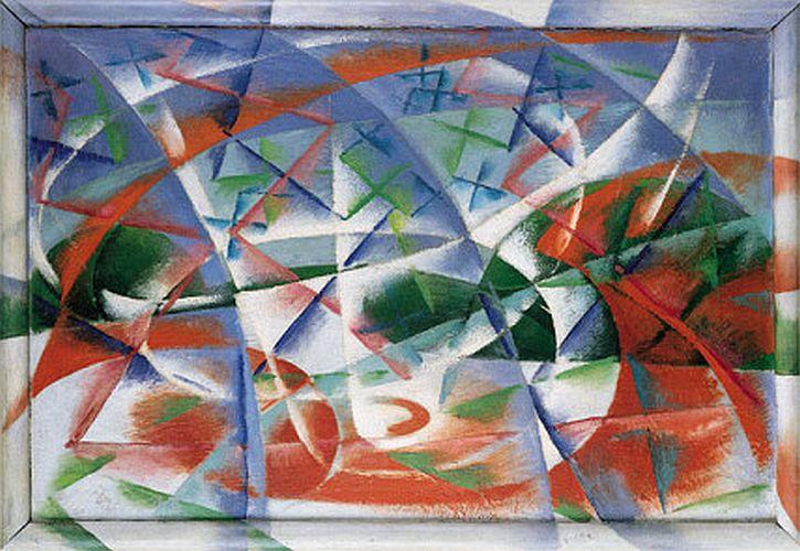 Giacomo Balla, Abstract Speed + Sound, 1913–1914
