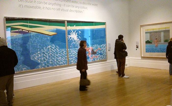 David Hockney: Early Reflections at the Walker