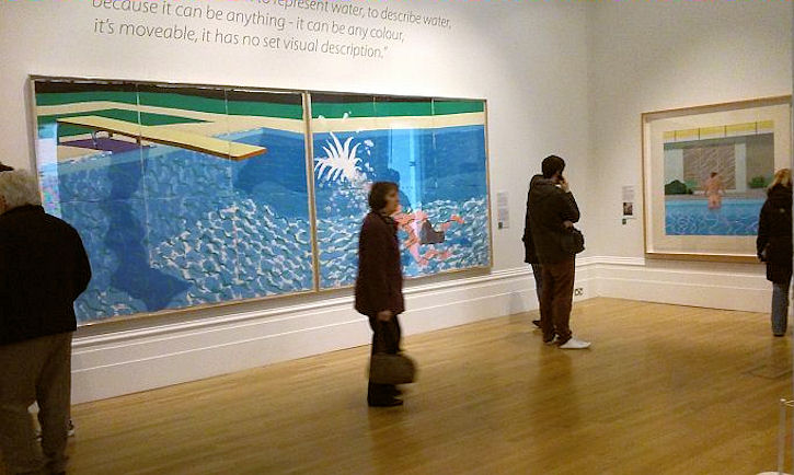 Hockney exhibition