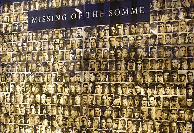 Missing of the Somme Thiepval