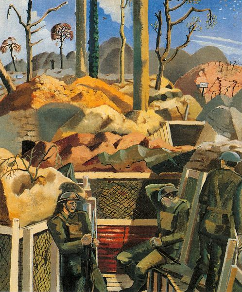 Paul Nash, Existence, 1917