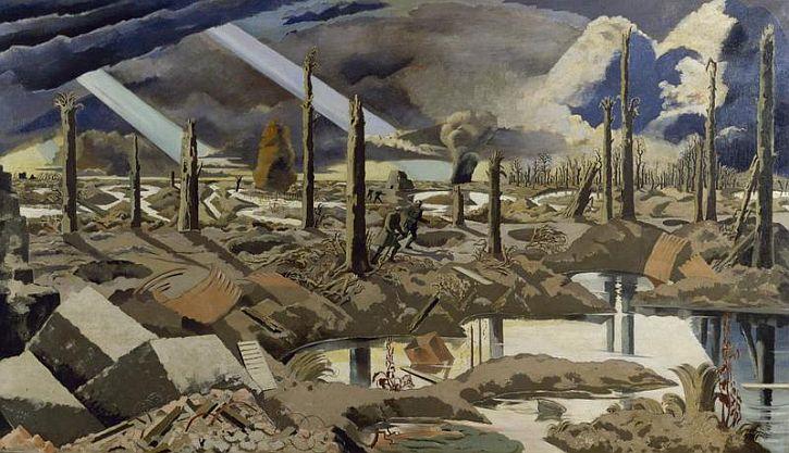 Paul Nash, The Menin Road, 1919