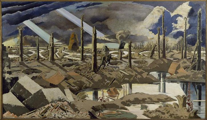 Paul Nash, The Menin Road, 1919