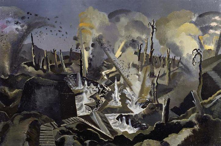 Paul Nash, The Mule Track, 1918