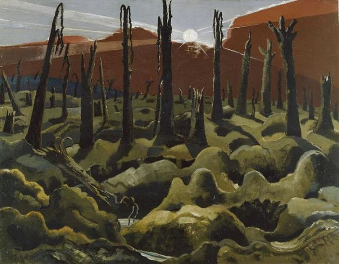 Paul Nash and World War One: 'I am no longer an artist,  I am a messenger to those who want the war to go on for ever… and may it burn their lousy souls'