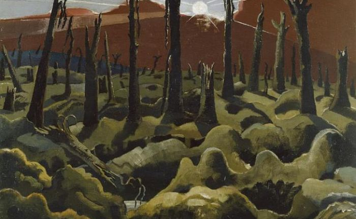 Paul Nash and World War One: 'I am no longer an artist,  I am a messenger to those who want the war to go on for ever… and may it burn their lousysouls'