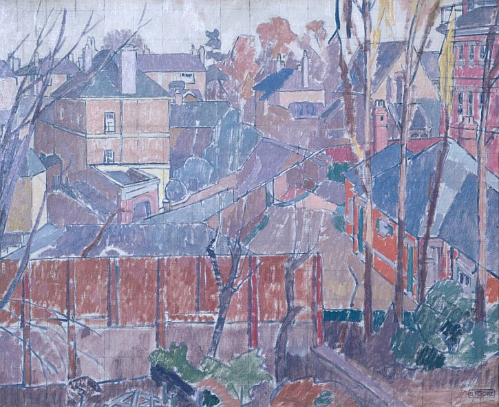 Spencer Gore, From a Window in Cambrian Road, Richmond, 1913