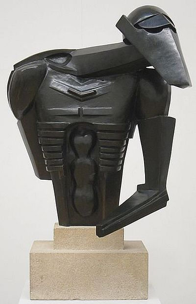 Epstein, Torso in Metal from 'The Rock Drill', 1916