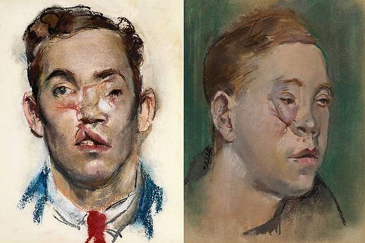 Henry Tonks, pastel portraits