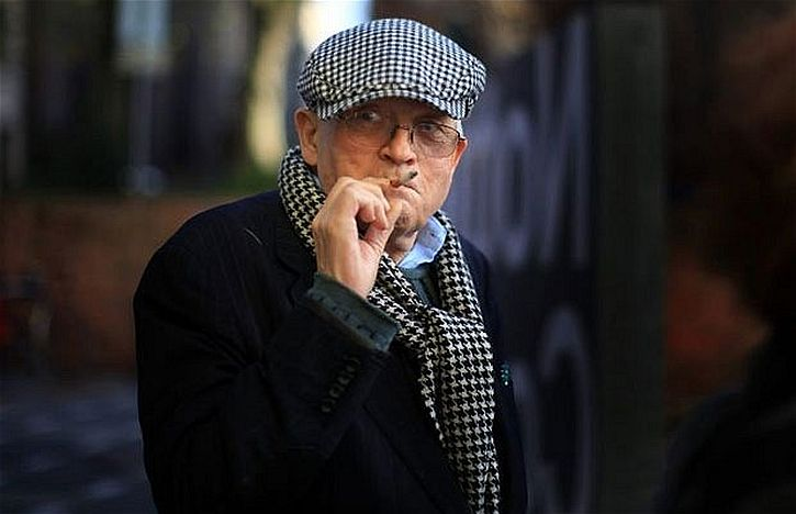 Hockney in 2012, aged 74