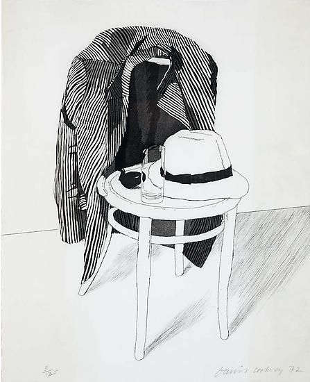 Hockney Panama Hat, 1972