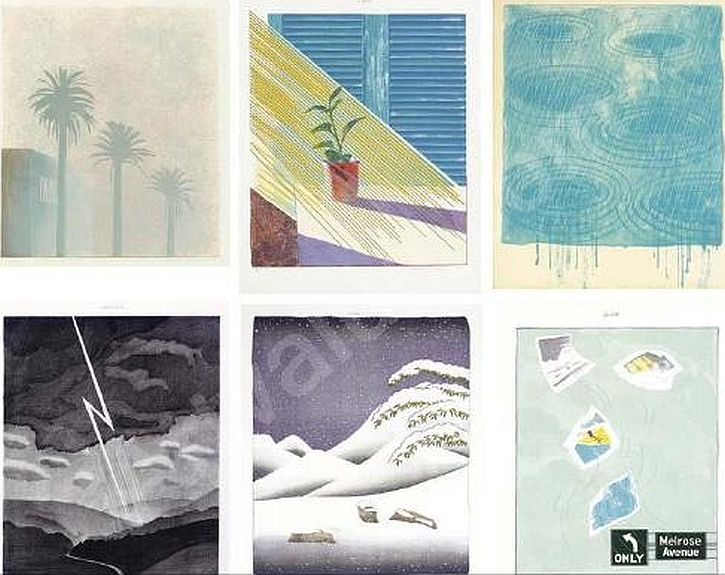Hockney  The Weather Series