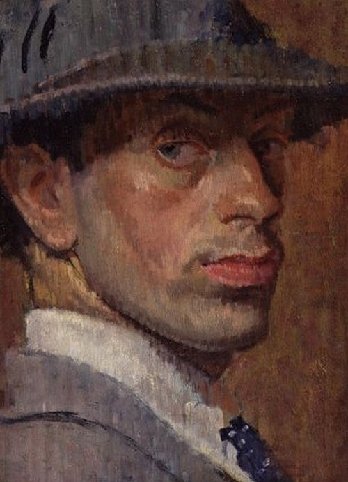 Isaac Rosenberg, Self Portrait,1915