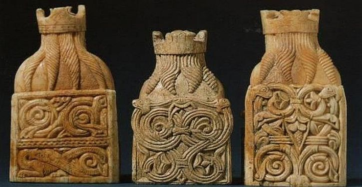 The vikings life and legend that 39 s how the light gets in - Lewis chessmen set ...