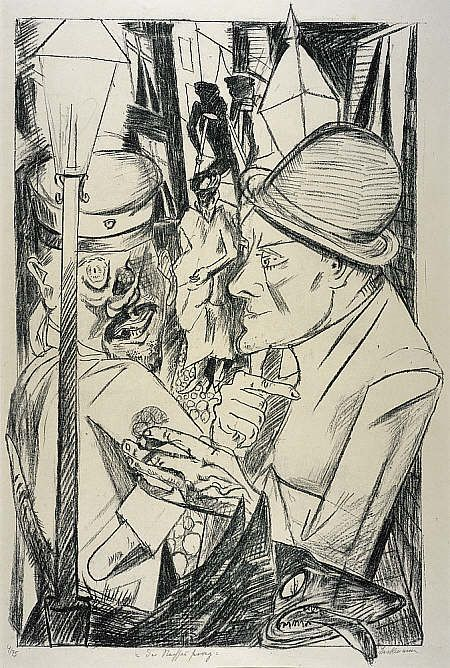 Max Beckman, The Way Home, from Hell