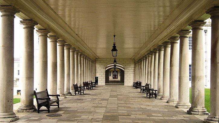 Queen House colonnade