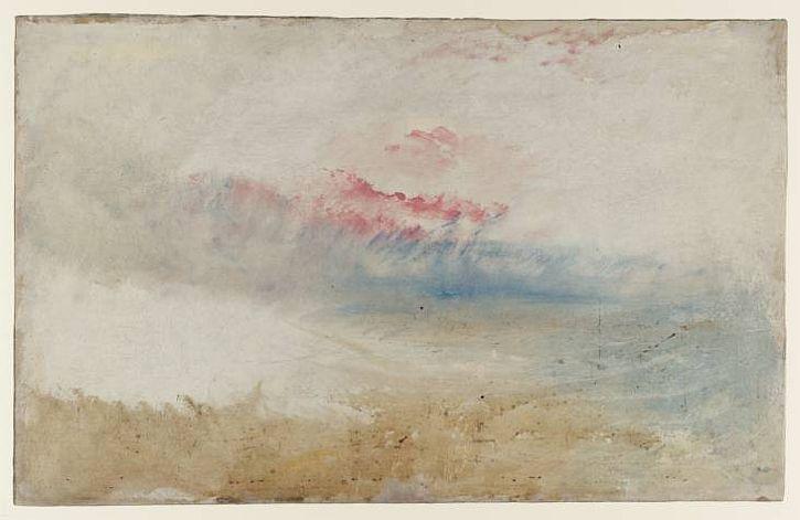 Red Sky over a Beach, c1840-5
