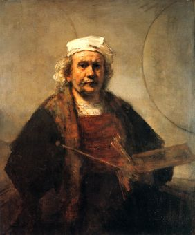 Rembrandt Self Portrait with Two Circles