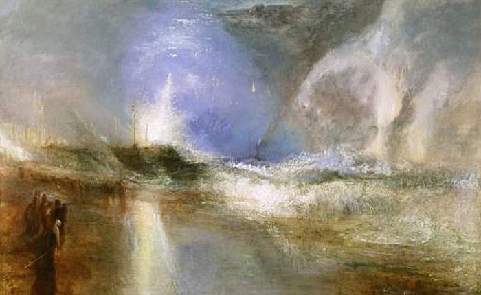 Turner and the Sea: pure paint and pure sensation