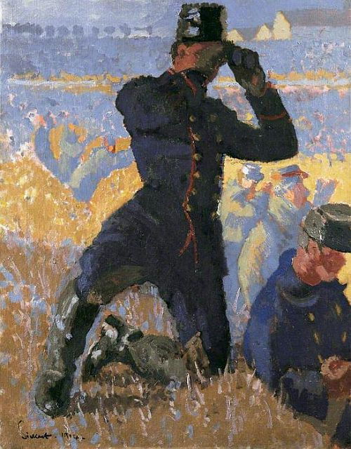Sickert, The Integrity of Belgium, 1914