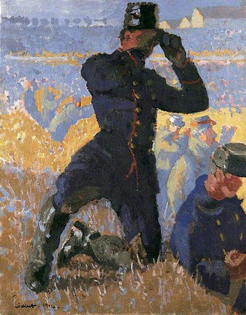 Sickert, The Integrity of Belgium, 1914