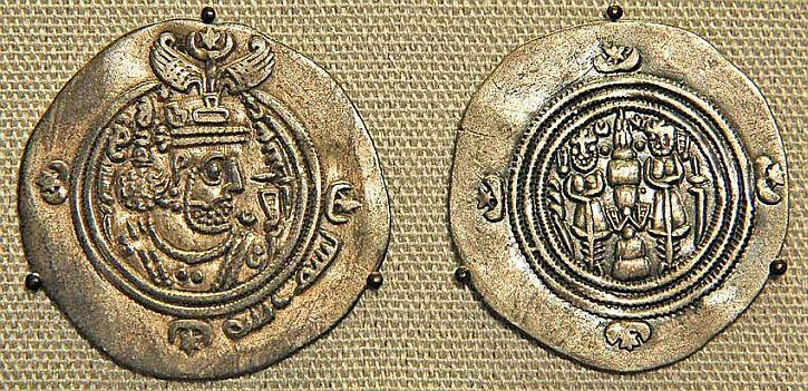 silver dirhams minted in Bagdhad