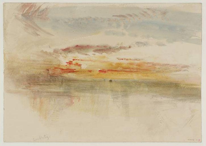Sunset at Ambleteuse,