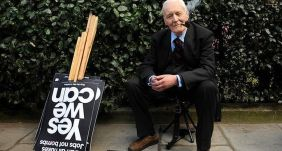 Tony Benn in 2009