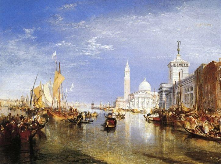 Venice - The Dogana and San Giorgio Maggiore, 1834