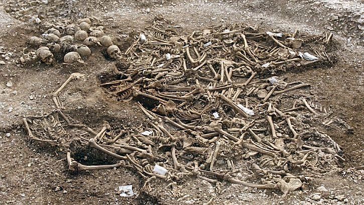 Viking mass grave, Weymouth