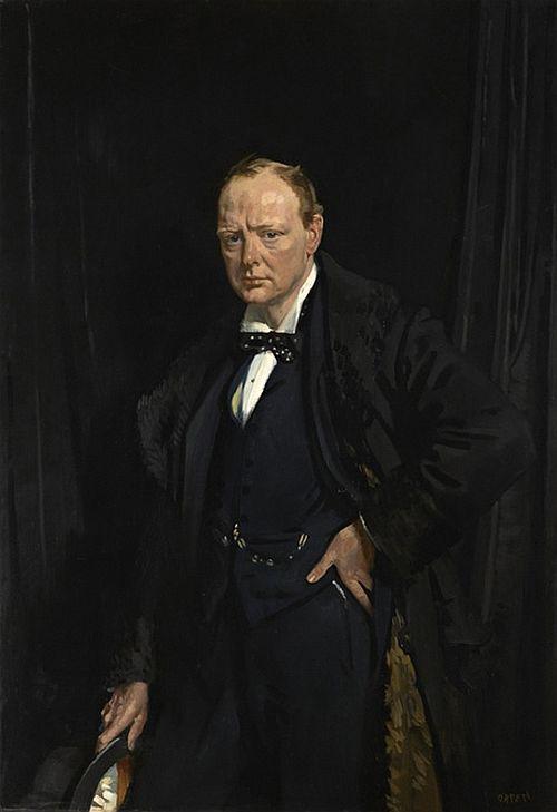 Sir Winston Churchill, by Sir William Orpen, 1916