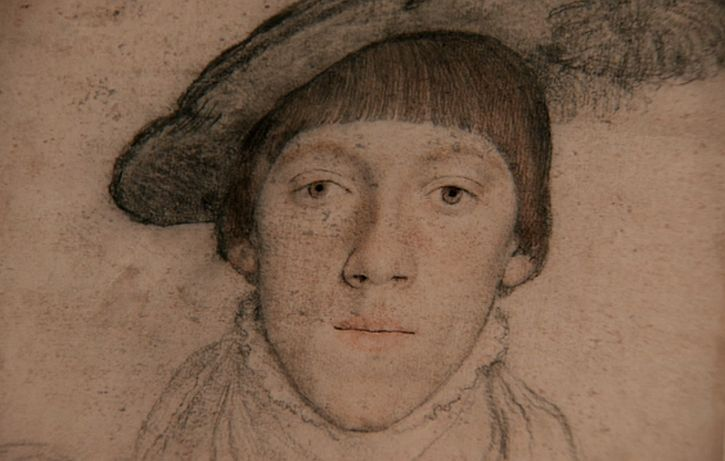 Holbein drawing Henry Howard, aged 15