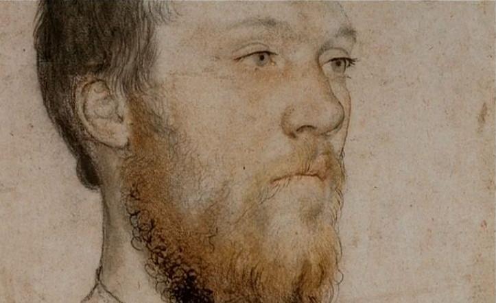 Holbein portrait 2