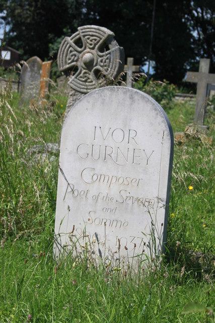Ivor Gurney gravestone