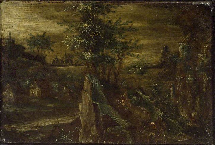 Nathanial Bacon, Landscape,