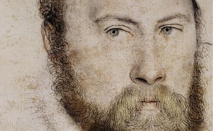 Sir Thomas Wyatt by Hans Holbein the Younger, c1535-7