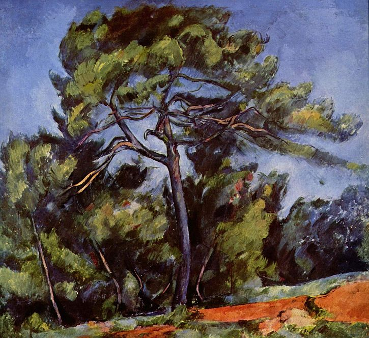 Cezanne, The Great Pine, c.1896