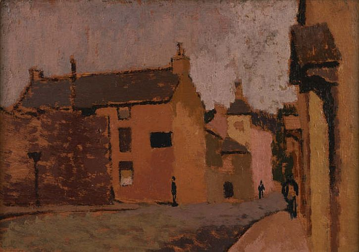 'Laugharne' by Edward Morland Lewis, c. 1930s