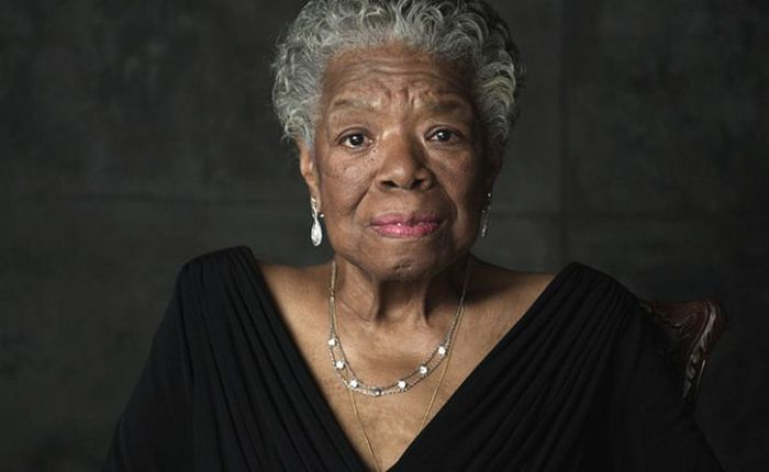 Maya Angelou: do not be wedded forever to fear