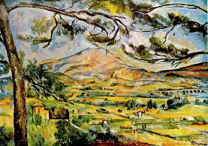 Mont Sainte-Victoire by Paul Cezanne, 1887