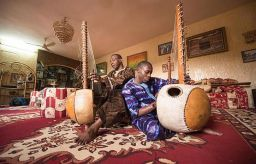 Toumani and Sidiki Diabate: latest of 71 generations of Malian griots in Liverpool